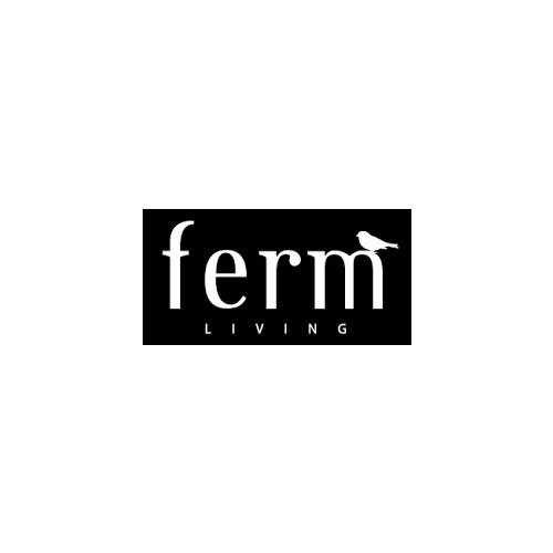 Ferm Living Sekki Pot Rust Medium