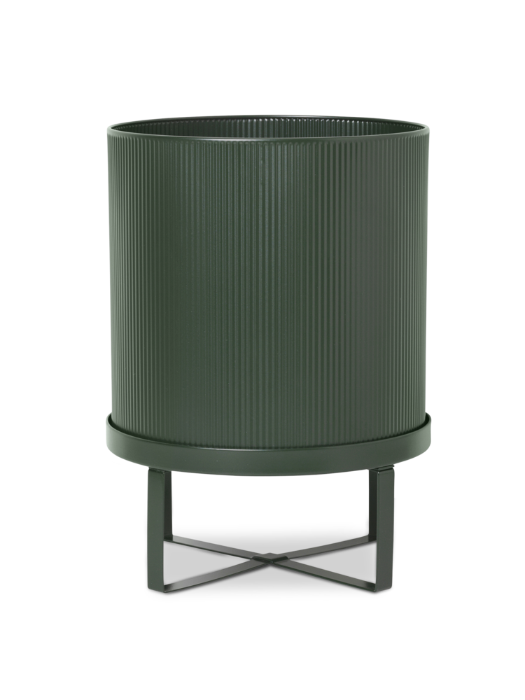 Bau pot large dark green