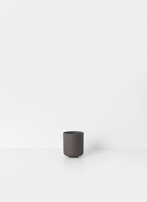 Ferm living sekki cup charcoal large