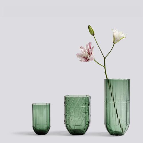 Colour vase M green