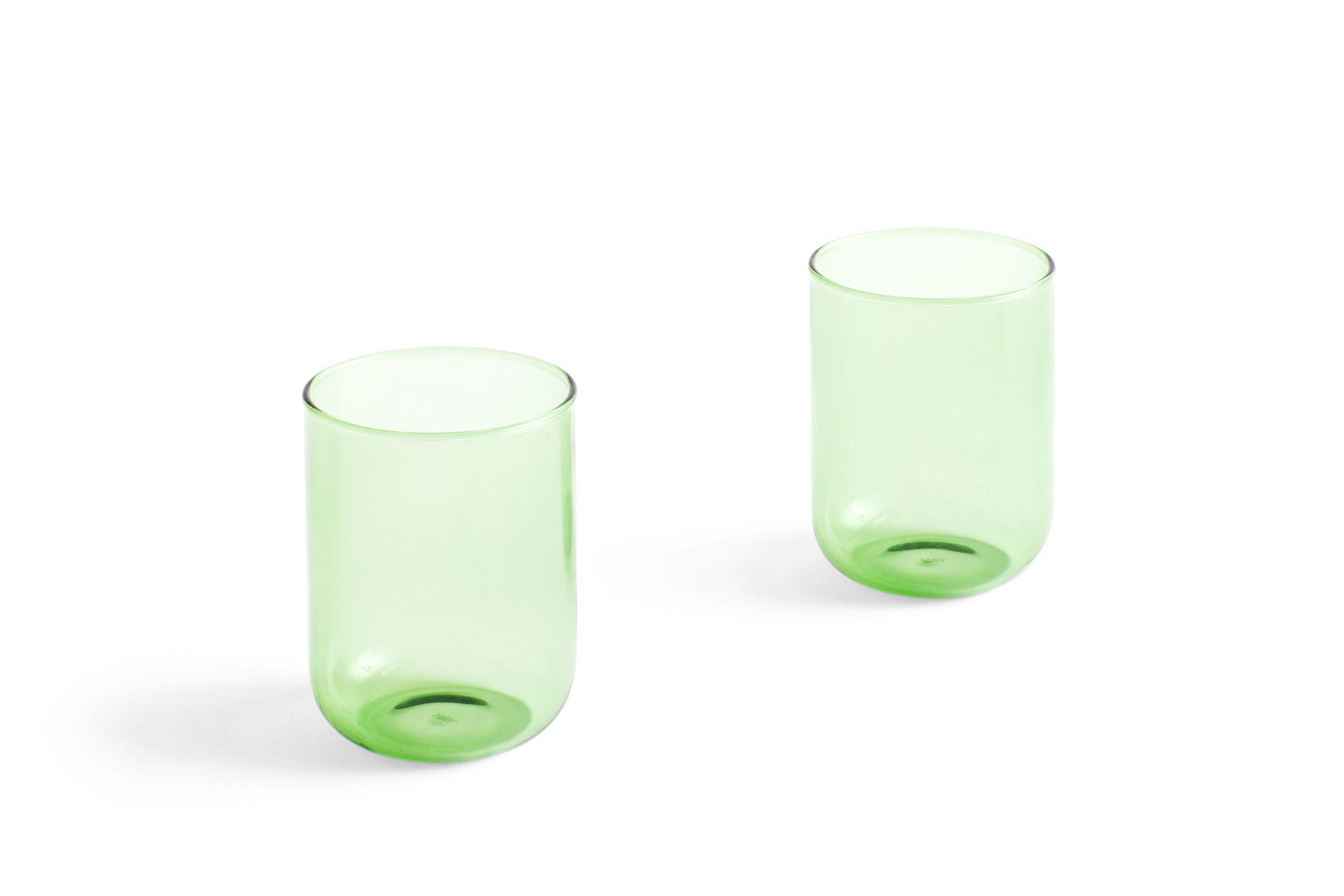 Tint Tumbler Green set of 2