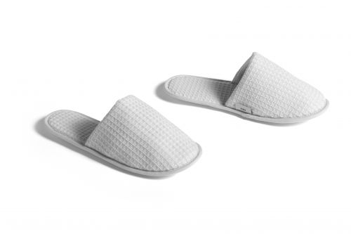Hay Waffle Slippers One Size Grey