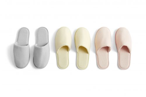 Hay Waffle Slippers One Size Nude