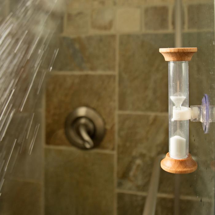5 minute shower timer