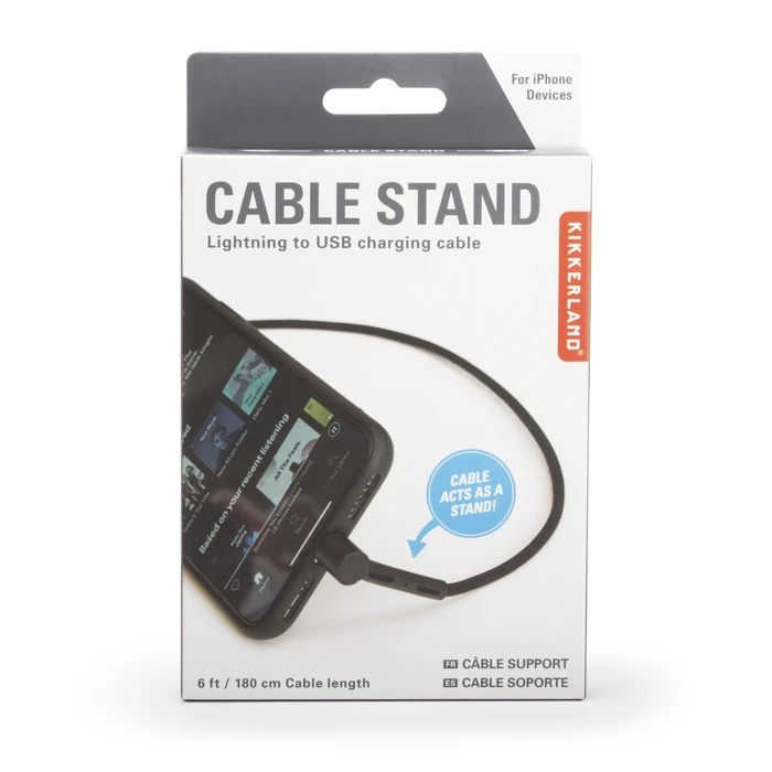 Cable stand charging cord iphone