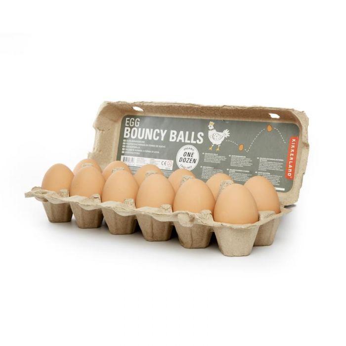 Egg bouncy ball