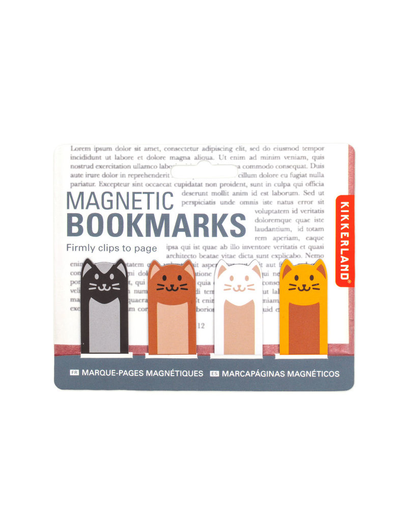 Magnetic Bookmark Cats