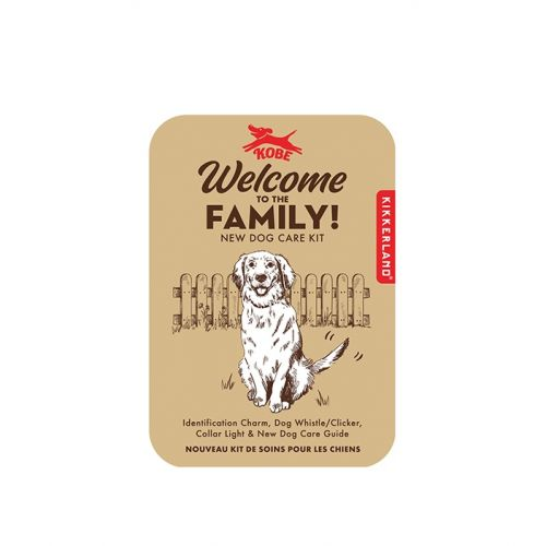 Welcome to the family dog kit