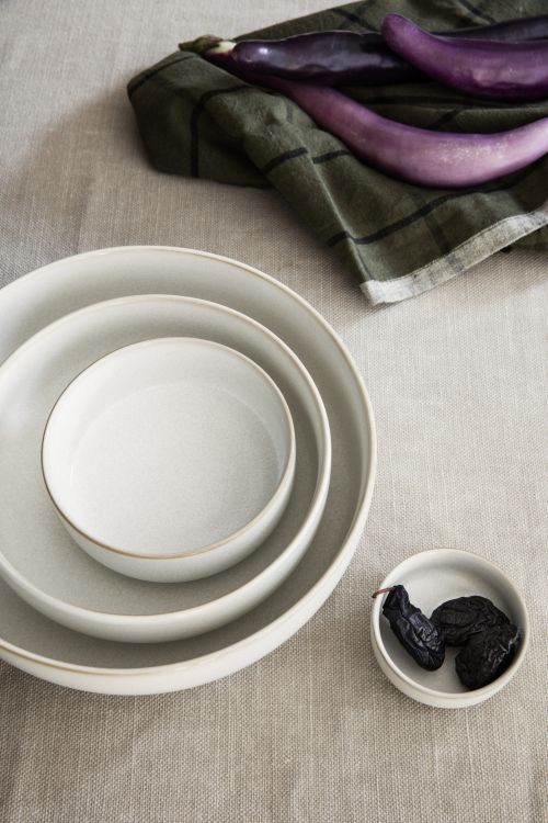 Sekki Plate - Large - Cream