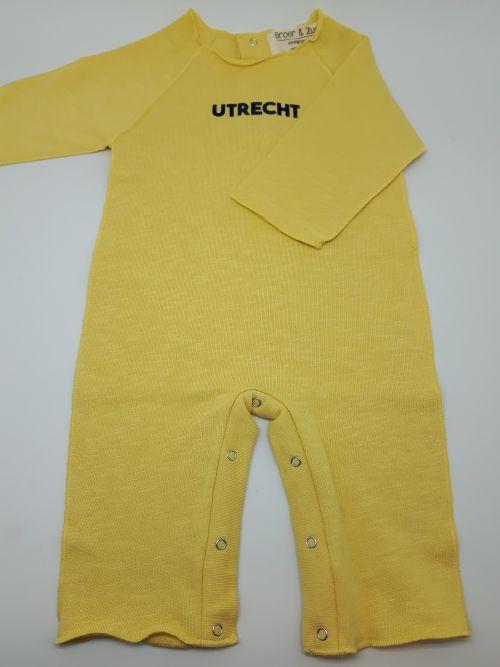 Baby pakje Utrecht Banana/Navy 6 maanden