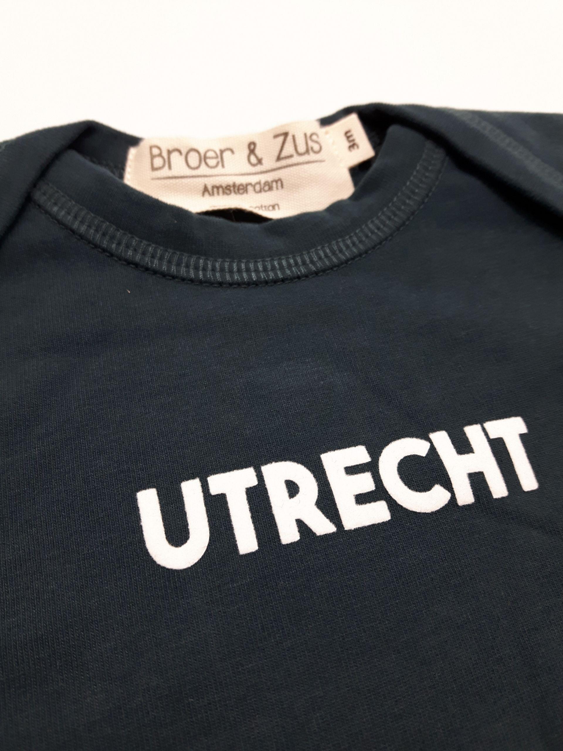 Baby romper Utrecht navy white 3 maanden