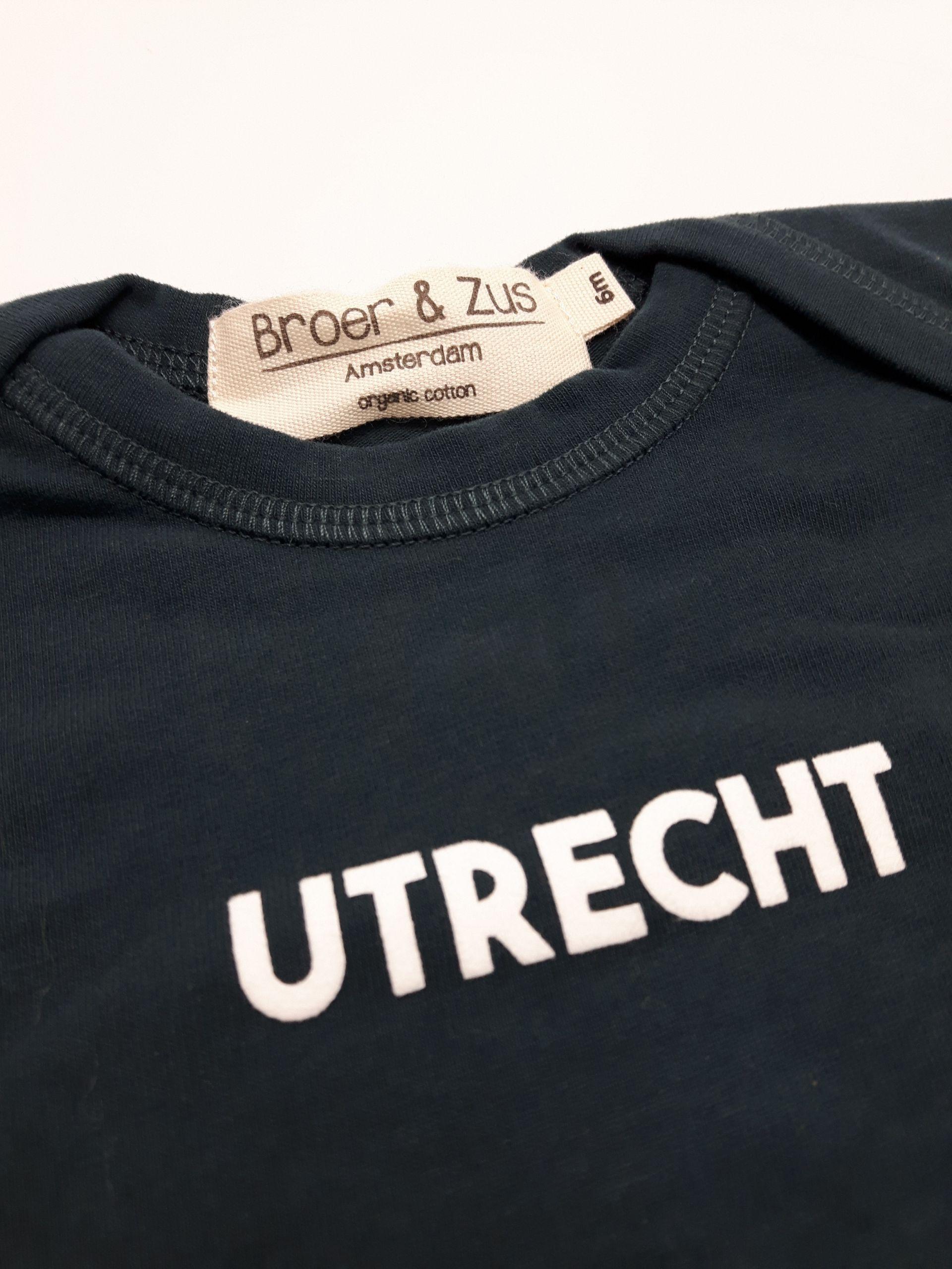Baby romper Utrecht navy white 6 maanden