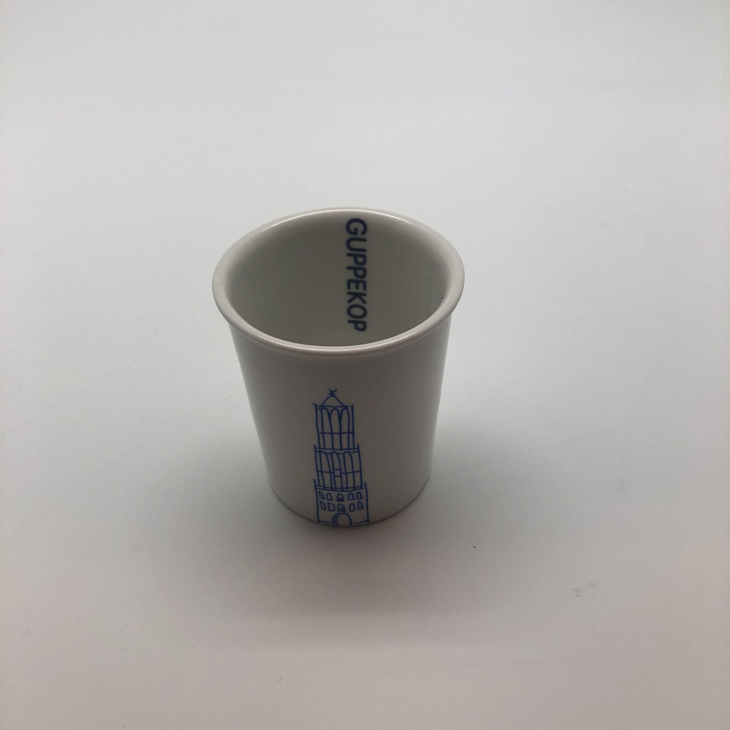 Koffie scheldmokje guppekop