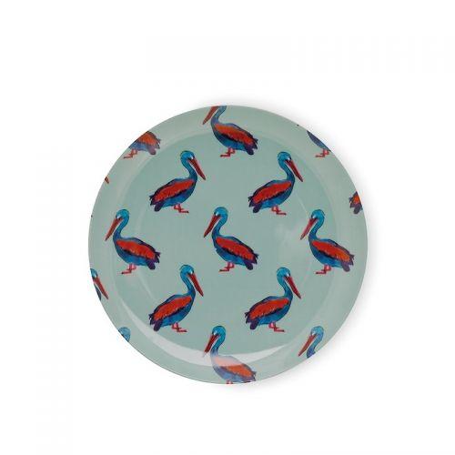 Breakfast plate pelican 21,5cm