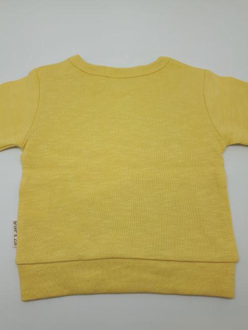 Sweater Utrecht Banana/Navy 18 maanden