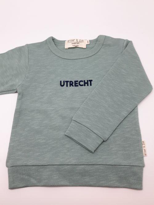 Sweater Utrecht cactus navy 18 maanden