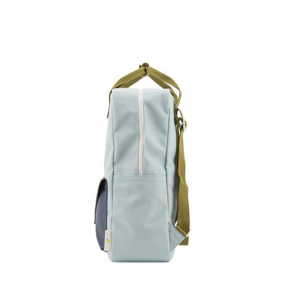Backpack envelope L misty green gold green dark teal