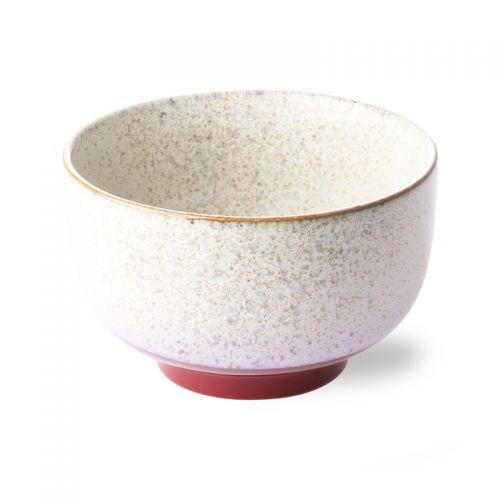 Ceramic 70's bowl frost