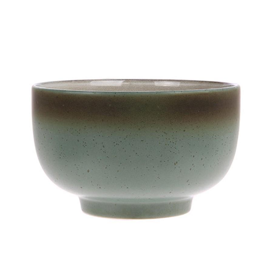 Ceramic 70's bowl moon