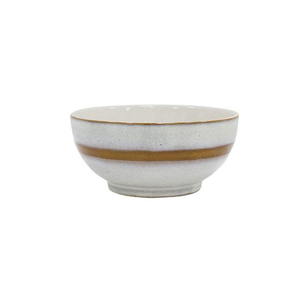 Ceramic 70's salad bowl medium