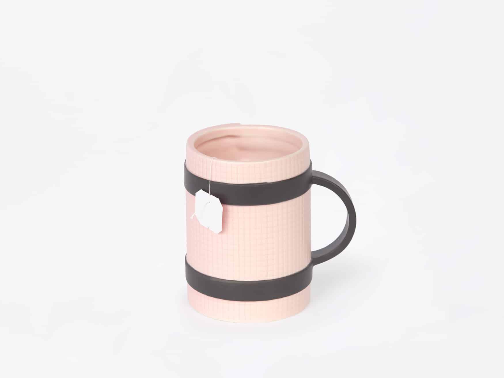 Yoga mug pink