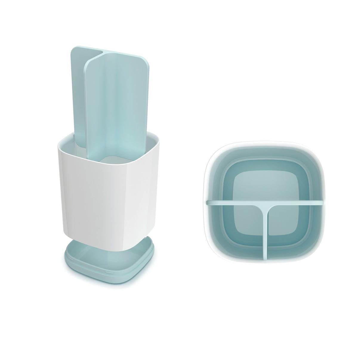 Easy store toothbrush organizer blauw wit