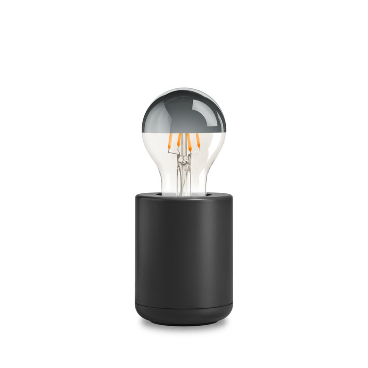 Base lamp black