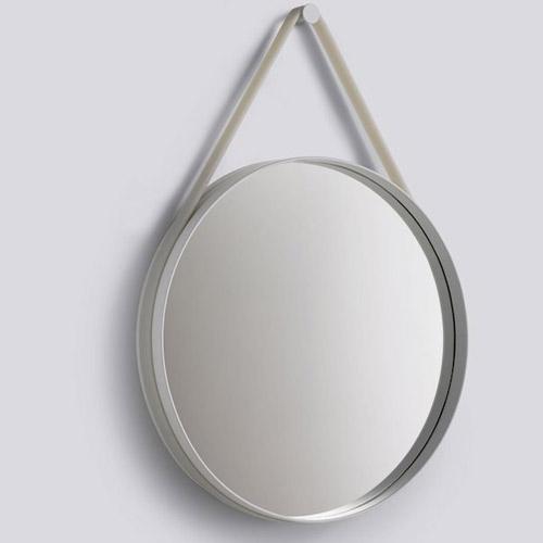 HAY Strap Mirror Grey 70 cm