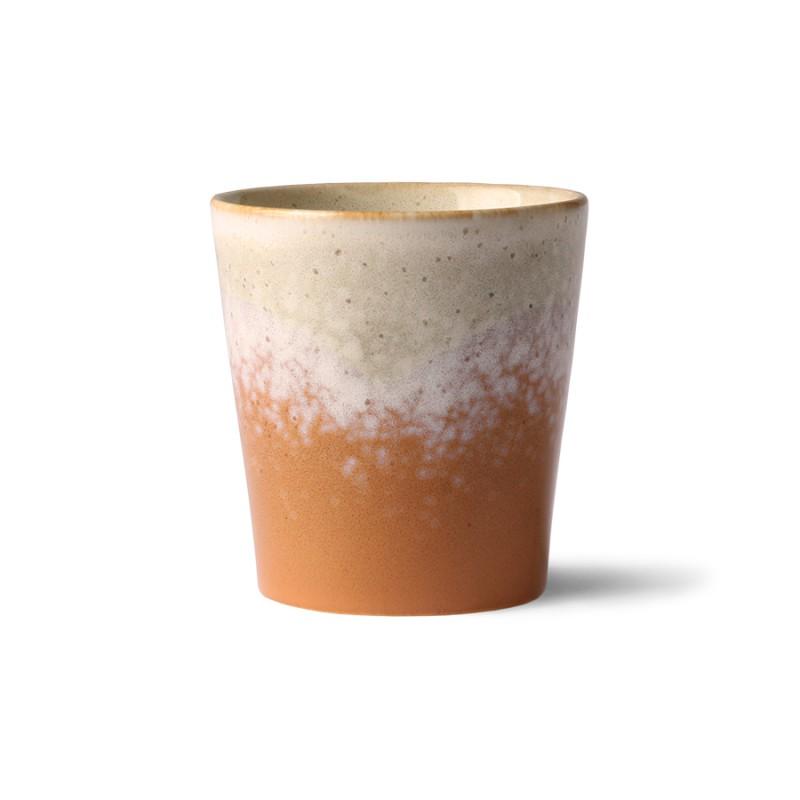 Ceramic 70's mug jupiter