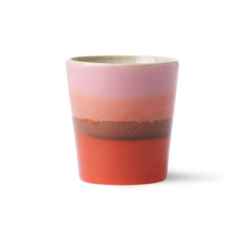 Ceramic 70's mug mars