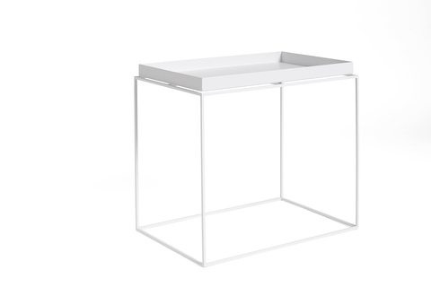Hay Tary Table Side Table L White