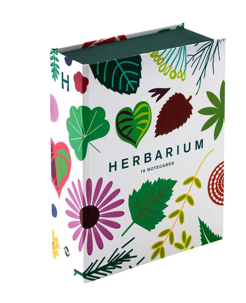 Herbarium 16 notecards