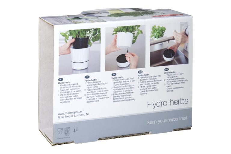 Hydro herbs medium wit