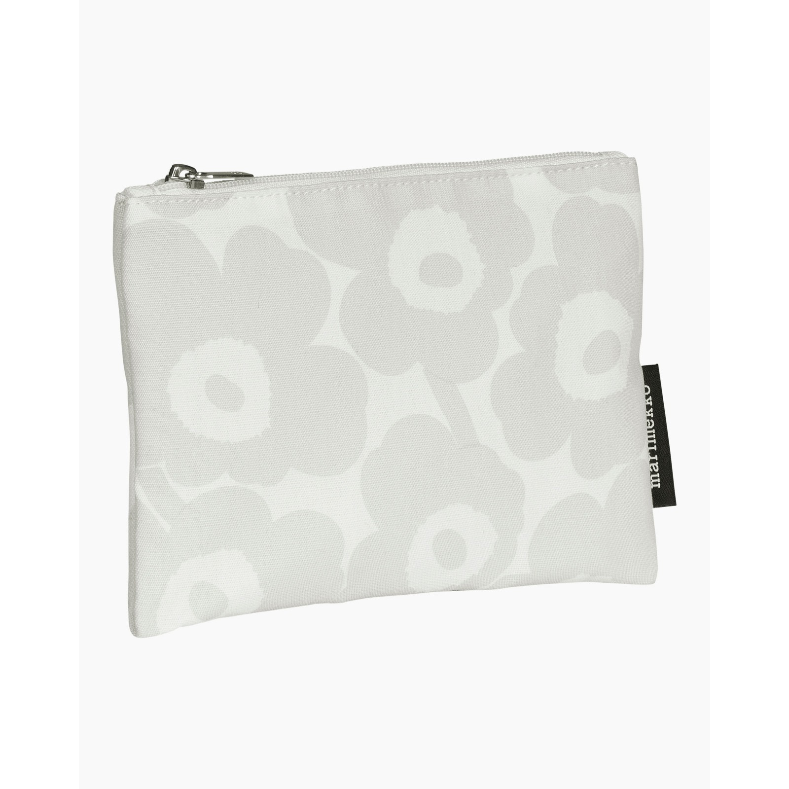 Kaika Mini Unikko pouch white/light grey