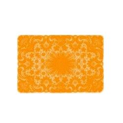 Placemat crochet orange