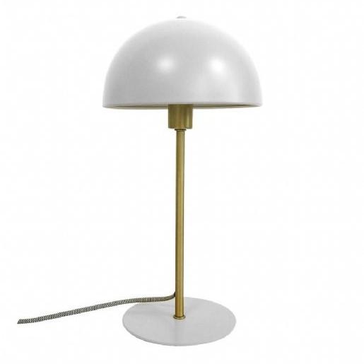 Table lamp bonnet metal white