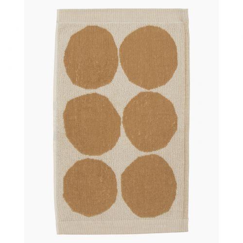 Marimekko Kivet Guest Towel 30x50 Beige/Yellow