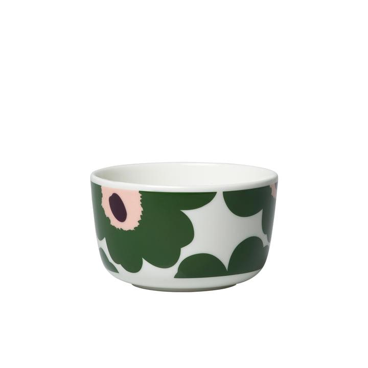 Marimekko Pieni Unikko Bowl 2,5DL beige/green/peach