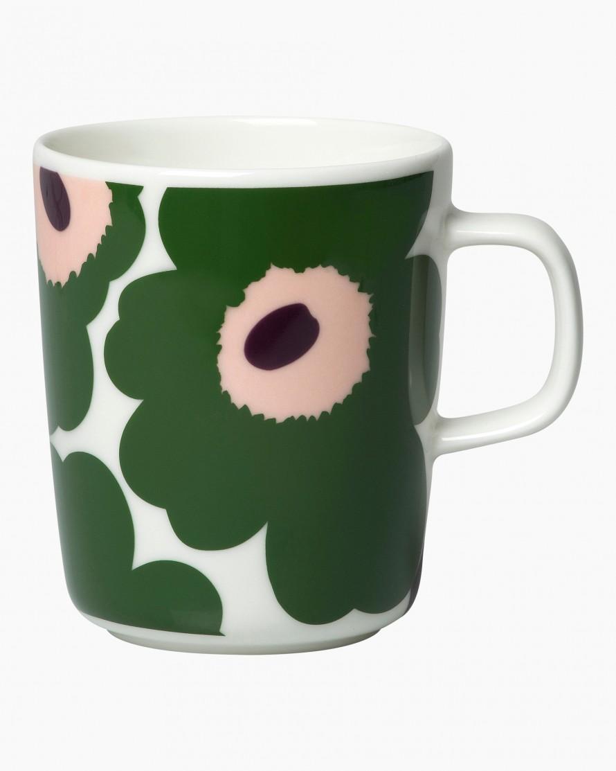 Marimekko Pieni Unikko Mug 2,5dl beige/green/peach