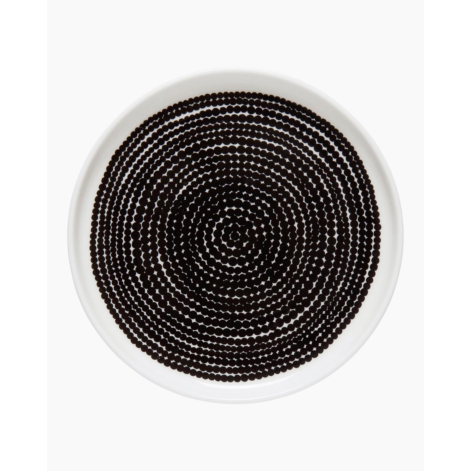 Marimekko Rasymatto Plate 13,5cm black