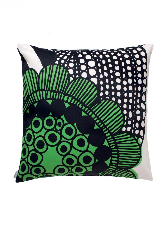 Marimekko Siirtolapuutarha Cushion White/Green