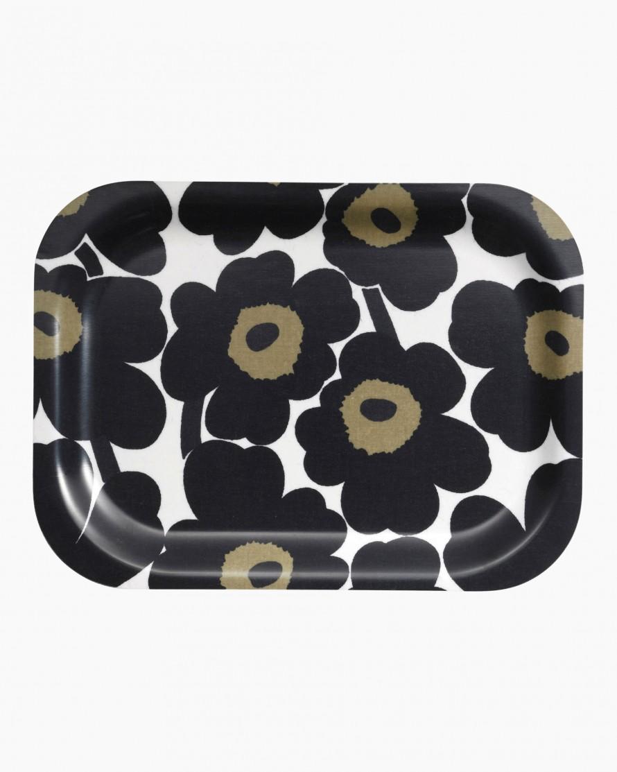 Marimekko Unikko Mini Black Tray
