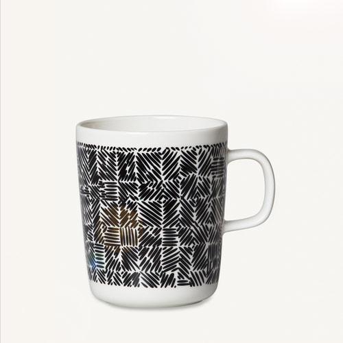 Juustomuotti mug 2,5dl black