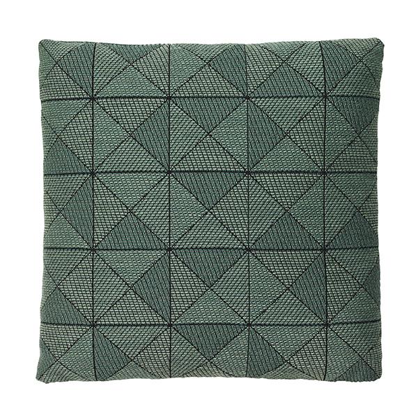 Tile cushion green 50x50 cm