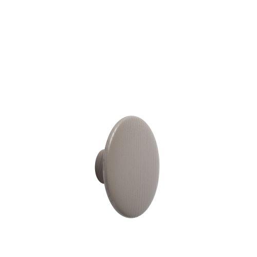 Dot wood medium Ø 13 cm taupe