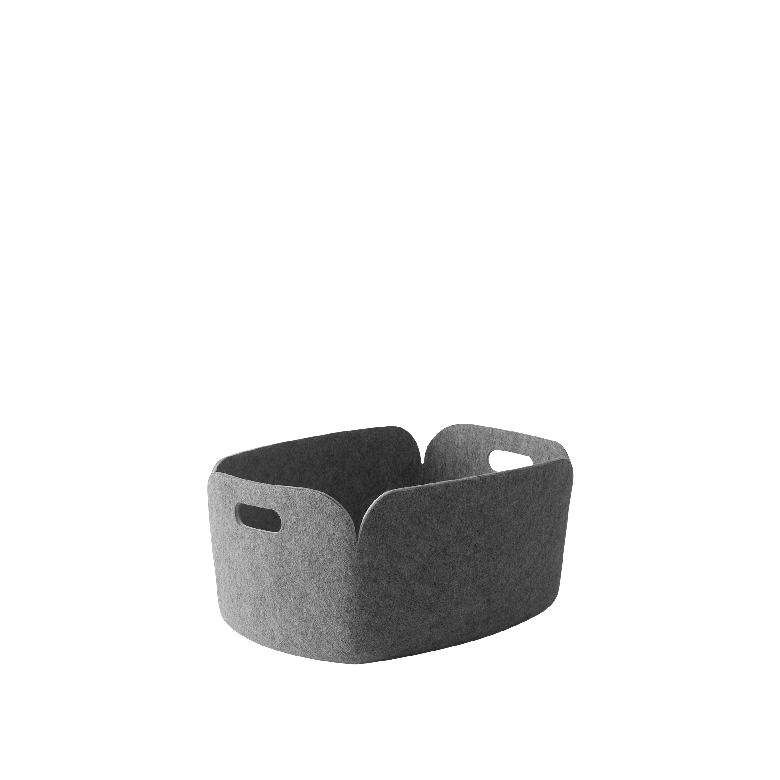 Restore basket grey melange