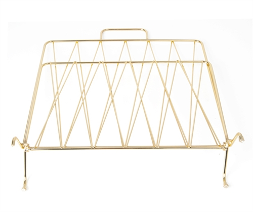 Magazine rack diamond gold
