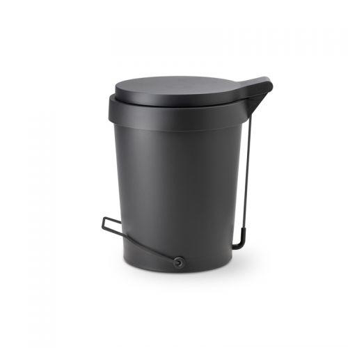Tip pedal bin 15 L. black matt