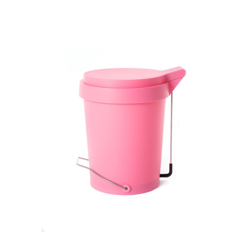 Tip pedal bin 15 L. pink