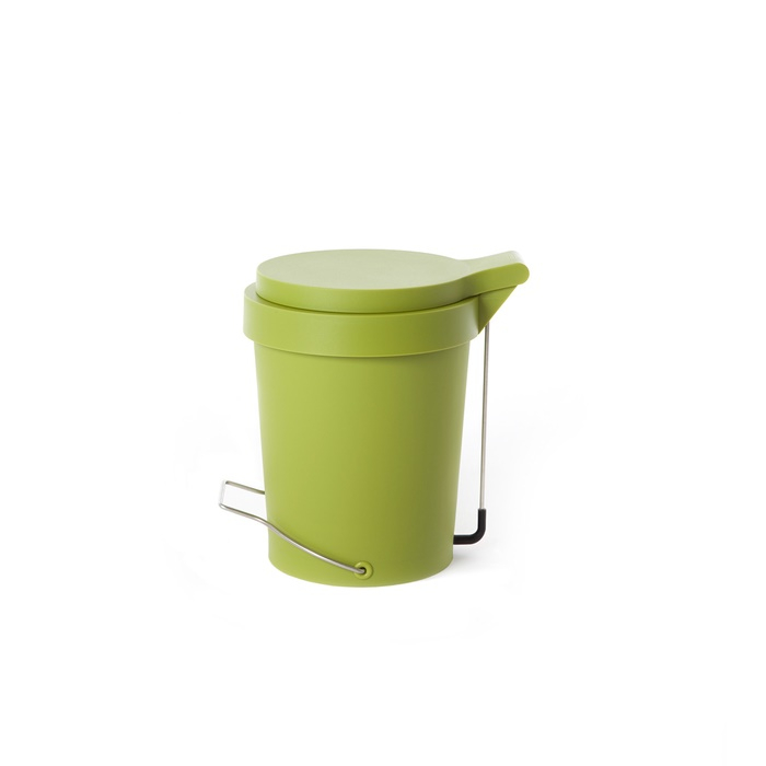 Trash can Tip 7 L. green
